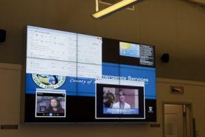 Video Wall at MCOES