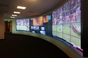 Onyx Curved Video Wall