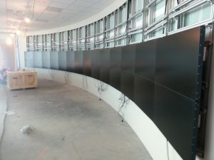 Onyx Pharmaceutical Video Wall Build
