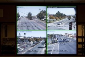 City of San Marcos video wall for traffic management.
