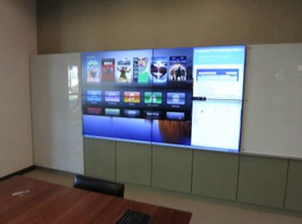 Conference Room 2x2 Video Wall Complete System